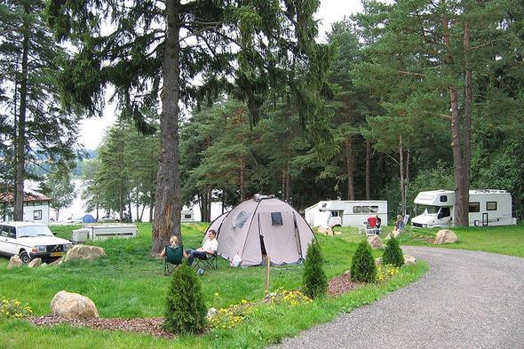 Terrassen Camping Panorama In Lipno Nad Vltavou Czech Republic Acsi