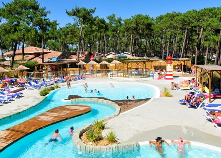Campsites with a leisure pool