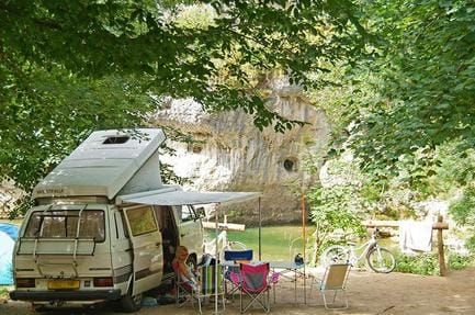 Campsite La Blaquière
