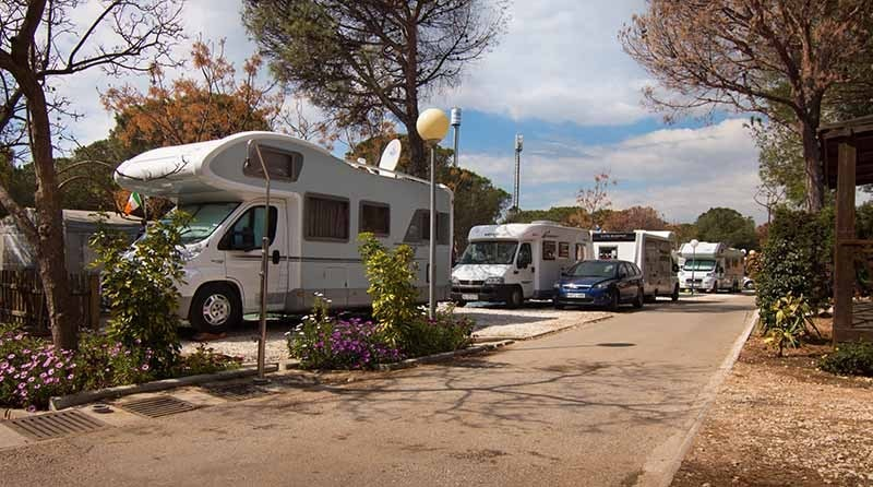 Campingplass Cabopino