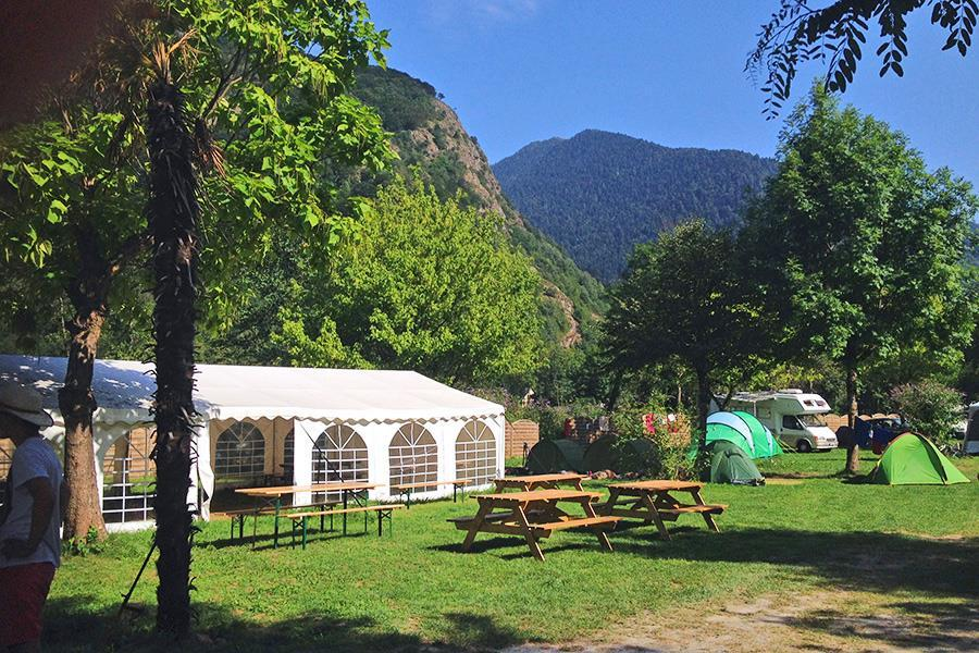 Camping Au Fil de l'Oô
