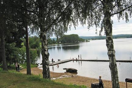 Camping i Bollnäs/Vevlinge