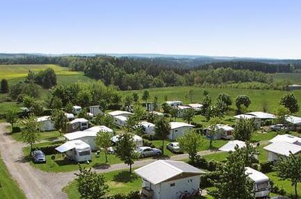 Camping Panoramablick
