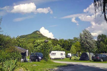 Campingplatz Jena unter dem Jenzig