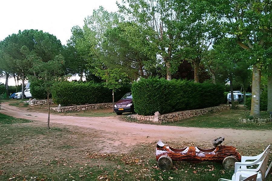 Campsite Camino de Santiago